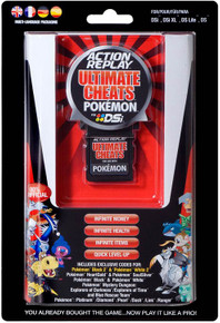 Action Replay Ultimate Cheats Pokemon (NDS)