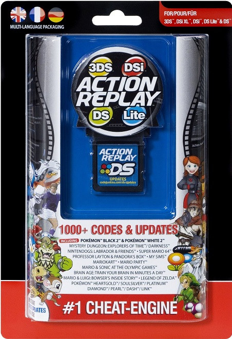 Action Replay Cheat-Engine (NDS)