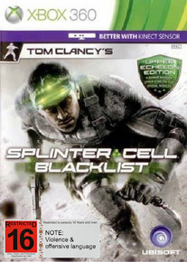 Tom Clancy's Splinter Cell Blacklist Upper Echelon Edition (X360)
