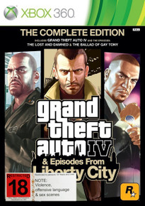 Grand Theft Auto IV: Complete Edition (X360)