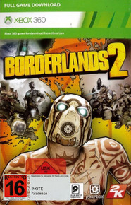 Borderlands 2 Digital Download Voucher (X360)