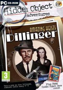 Hidden Object Adventures Amazing Heists Dillinger (PC)