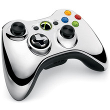 Xbox Chrome Silver Wireless Controller (X360)