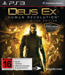 Deus Ex Human Revolution Limited Edition (PS3)