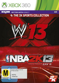 WWE'13 + NBA 2K13 Bundle (X360)