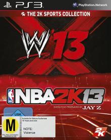 WWE'13 + NBA 2K13 Bundle (PS3)