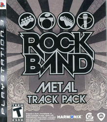 Rock Band Metal Track Pack (PS3)