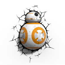 Star Wars collectible 3D Deco Light BB-8