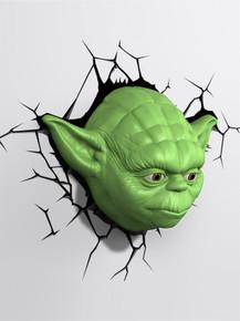 Star Wars collectible 3D Deco Light Yoda Face