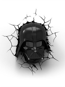 Star Wars collectible 3D Deco Light Darth Vader Helmet
