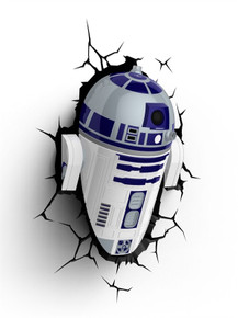 Star Wars collectible 3D Deco Light R2D2