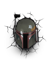 Star Wars collectible 3D Deco Light Boba Fett