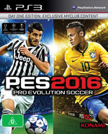 Pro Evolution Soccer 2016 Day One Edition (PS3)