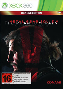 Metal Gear Solid V The Phantom Pain Day One Edition (X360)