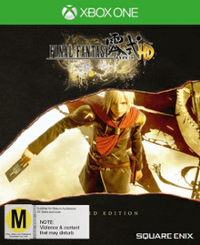 Final Fantasy Type-0 HD Limited Steelbook Edition (Xbox One)
