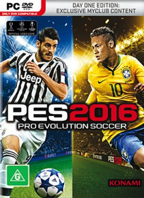 Pro Evolution Soccer 2016 Day One Edition (PC)