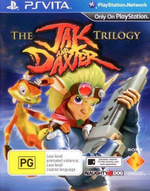 The Jak and Daxter Trilogy (PSVita)