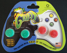 Grip-iT Analog Stick Covers Green/Red (X360 / PS3 / Xbox One / PS4)