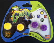 Grip-iT Analog Stick Covers Yellow/Purple (X360 / PS3 / Xbox One / PS4)