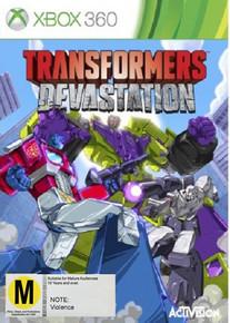 Transformers Devastation (X360)