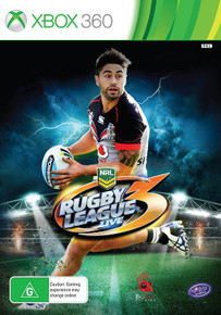 Rugby League Live 3 (Shaun Johnson Cover) (X360)