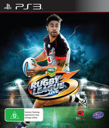 Rugby League Live 3 (Shaun Johnson Cover) (PS3)
