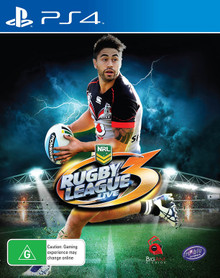 Rugby League Live 3 (Shaun Johnson Cover) (PS4)