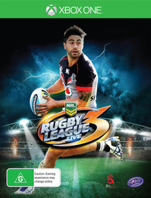 Rugby League Live 3 (Shaun Johnson Cover) (Xbox One)