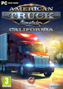 American Truck Simulator California (PC)