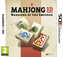 Mahjong 3D Warriors of the Emperor (3DS)