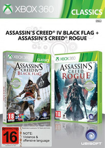 Assassin's Creed IV Black Flag + Assassin's Creed Rogue (X360)