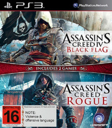 Assassin's Creed IV Black Flag + Assassin's Creed Rogue (PS3)