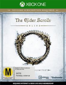 Elder Scrolls Online Tamriel Unlimited (Xbox One)