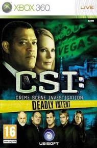 CSI: Crime Scene Investigation Deadly Intent (X360)