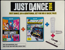 Just Dance 2014 Additional Set Bundle Edition (WiiU)