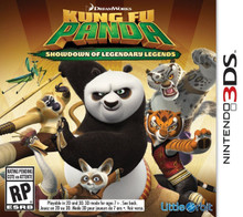 Kung Fu Panda Showdown of Legendary Legends (3DS)