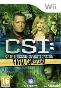 CSI: Crime Scene Investigation - Fatal Conspiracy (Wii)