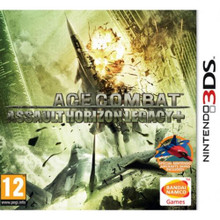 Ace Combat Assault Horizon Legacy (3DS)