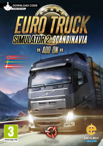 Euro Truck Simulator 2: Scandinavia Add-on (PC)