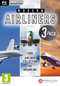 Modern Airliners Collection  [Add-On for Microsoft Flight Simulator X] (PC)