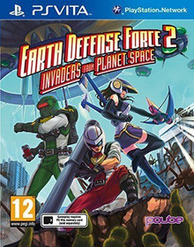Earth Defense Force Invaders from Planet Space (PSVita)