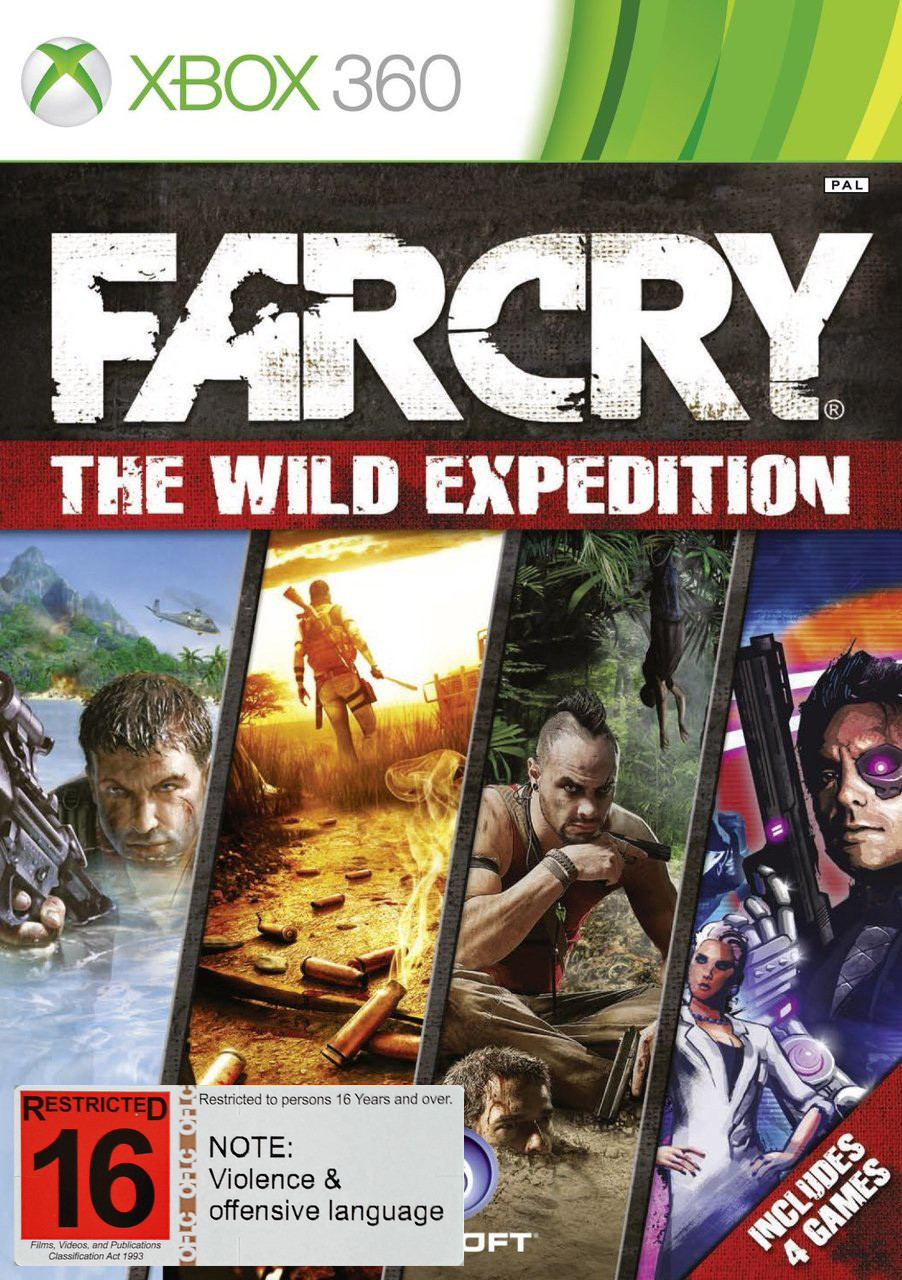 Far Cry The Wild Expedition (X360)