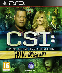 CSI: Crime Scene Investigation - Fatal Conspiracy (PS3)