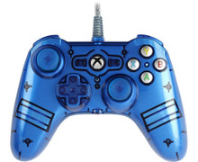 Liquid Metal Xbox One Wired Controller - Blue