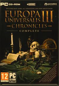 Europa Universalis III Chronicles Complete (PC)