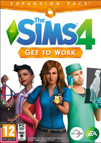 The Sims 4 - Get To Work Expansion  (PC, Mac)