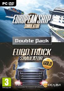 European Ship & Euro Truck Simulator Gold  Double Pack (PC)