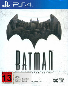 Batman The Telltale Series (PS4)