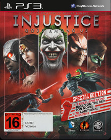 Injustice: Gods Among Us Special Edition Red Steelbook (PS3)