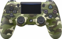 Sony DualShock 4 Wireless Controller Green Camouflage (PS4)
